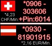 Telefonsex Schweiz - Telefonsex Oesterreich